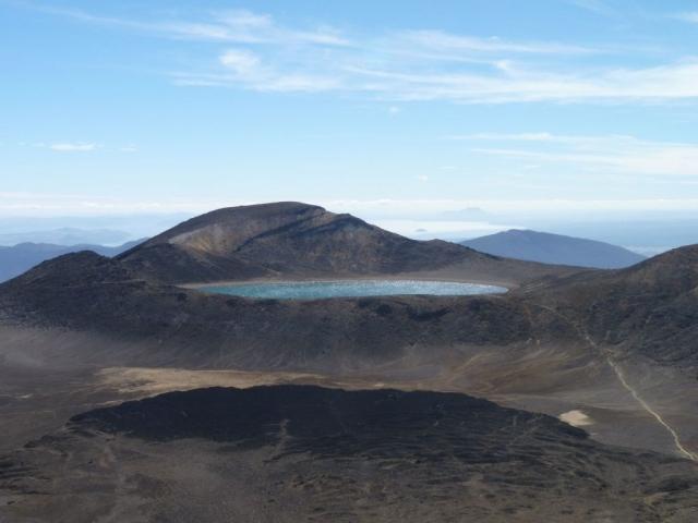Blue Lake Tongariro