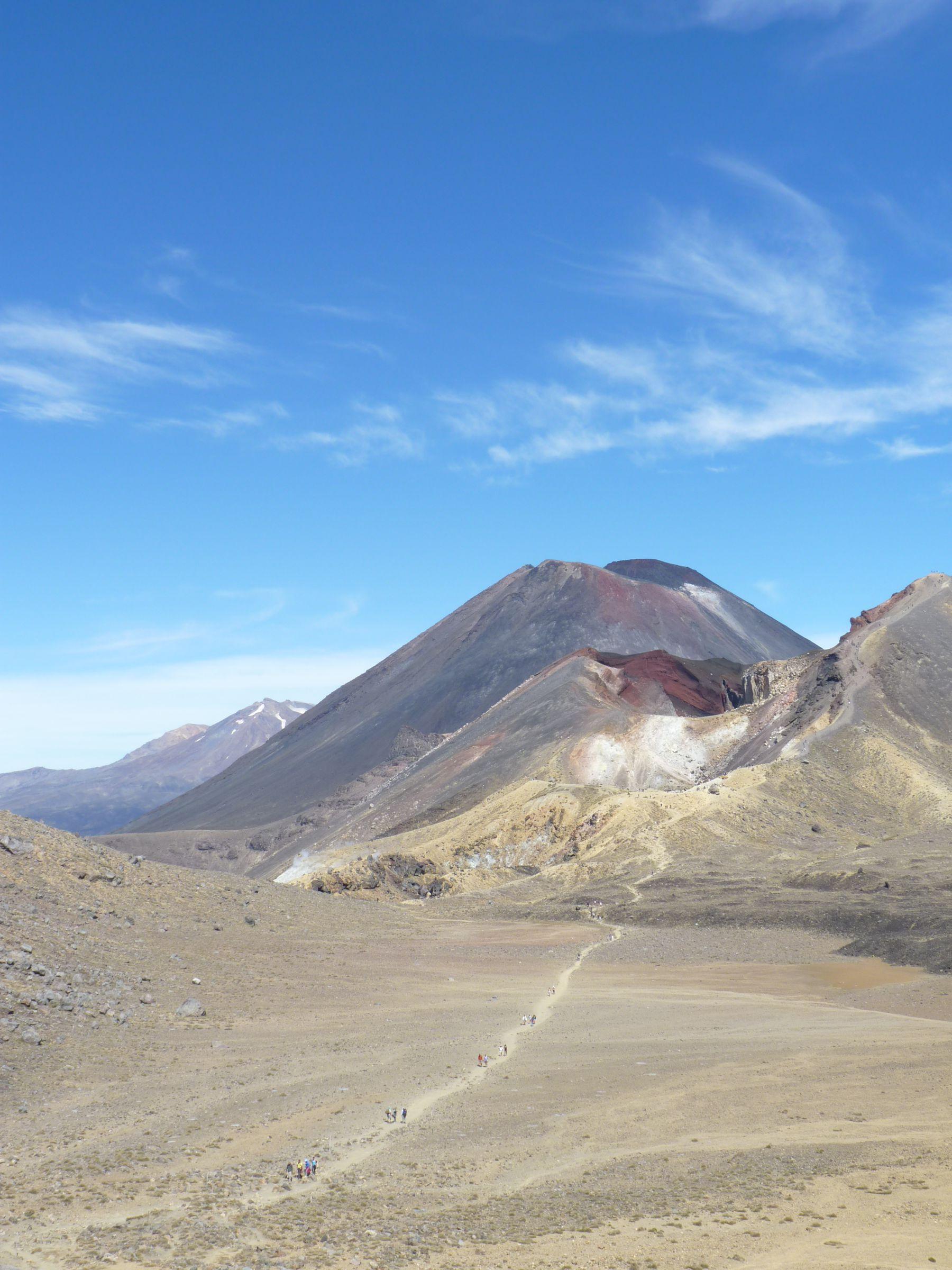 Ruapehu, Ngauruhoe, Red Crater