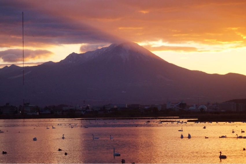 Fig.1 Daisen Volcano